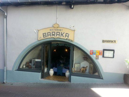 La Baraka et son entrée voûtée