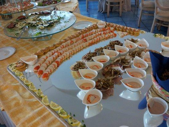 Sorriso Thermae Resort & Spa: Antipasto.... a pranzo