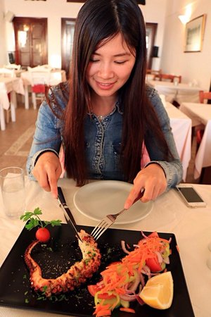 Naoussa Tavern: 燒章魚��