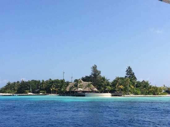 Komandoo Maldives Island Resort : From sailing boat