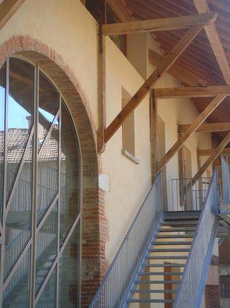 Les fermes de Louison : la structure de la ferme préservée