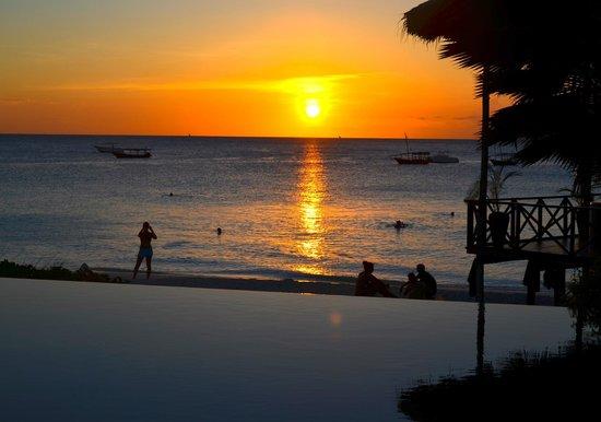 The Z Hotel Zanzibar: Sonnenuntergang  im Z Hotel