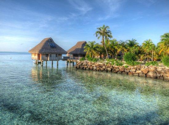 Conrad Bora Bora Nui: Morning walk