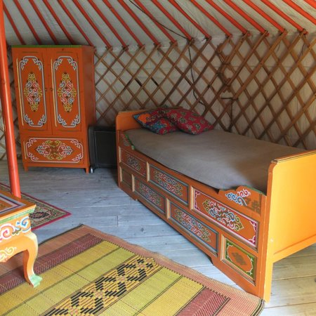 Les Anes de Vassiviere: Yurt 2