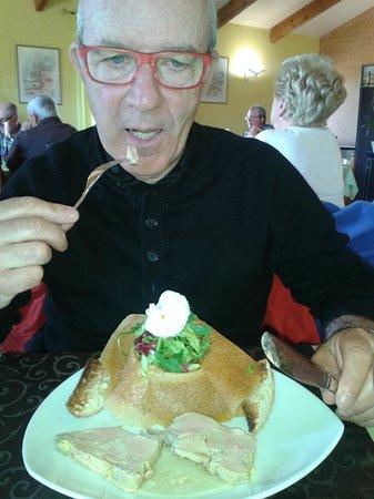 Auberge du Grand Rocher : foie  gras