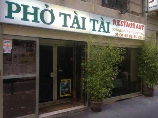 Pho Tai: Façade restaurant