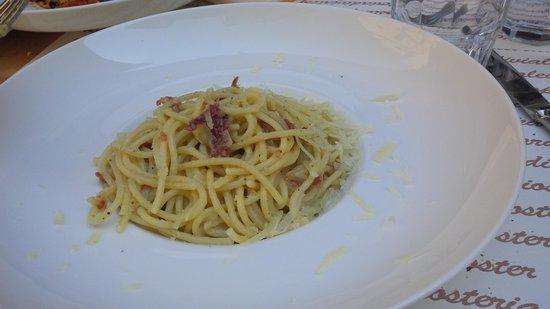 Osteria Via Leopardi: Spaghetti Cacio e Pepe