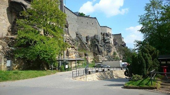 Festung Königstein: Wall