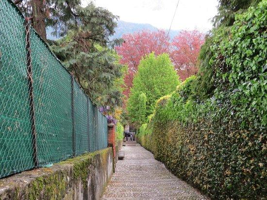 Casa la Rosa : Discesa/salita del sentiero pedonale