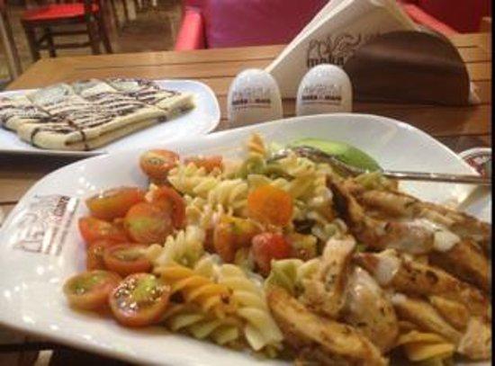 Richoux Cafe: Mocka cafe Muscat