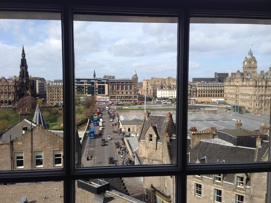 Old Town Chambers: View from 2 bedrooms apartment 1st floor