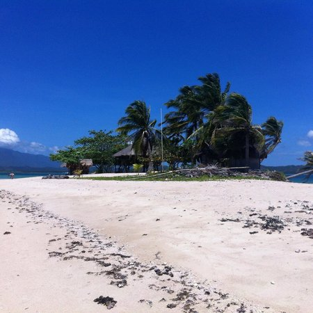 Dos Palmas Island Resort & Spa: an island we went to called Isla puting Buhangin....if you stay overnight in Dos you can avail o