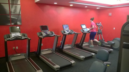 The Concourse Hotel at Los Angeles Airport - A Hyatt Affiliate : Exercise  room