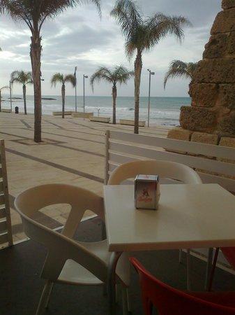 Caffe delle Rose : vista sul mare