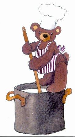 Teddybärenhotel: der Kochbär