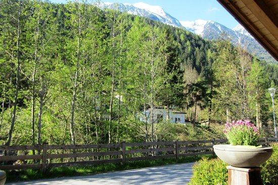 Natur & Aktiv Resort Ötztal: view from front porch