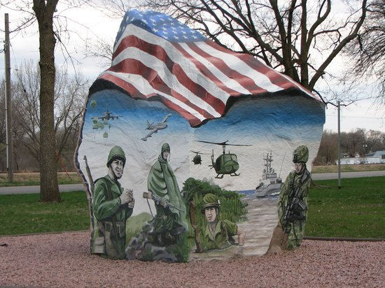 Freedom Rock (Sioux County), Hawarden, Iowa