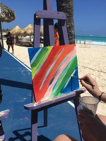Paradisus Punta Cana: painting