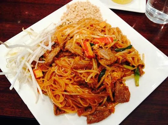 Xuan saigon asian restaurant 11 fort evans rd ne in for Aiyara thai cuisine menu