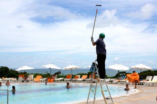 Club Med Trancoso : GO na área da piscina