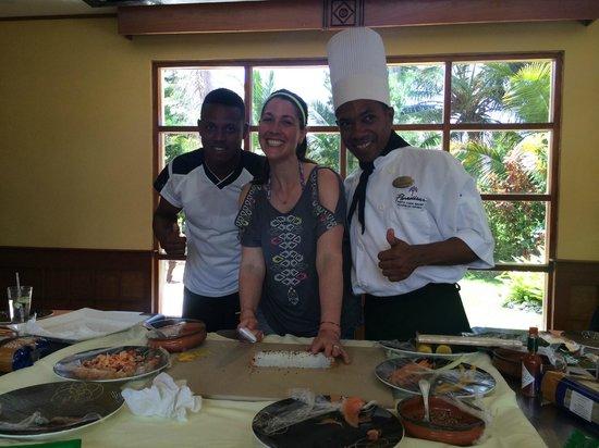 Paradisus Punta Cana Resort: Jose and Alejandro from Sushi Making!