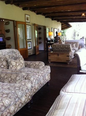 andBeyond Ngala Safari Lodge: le coin Wifi !
