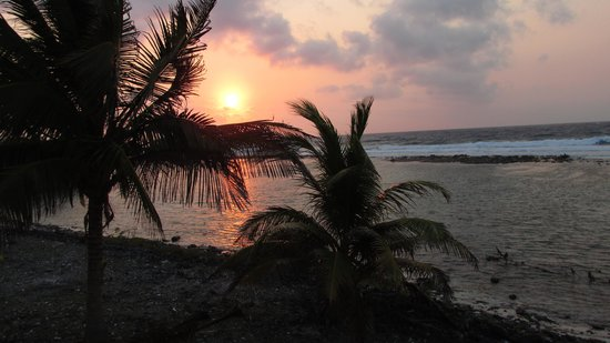 Isla Marisol Resort : Sunrise from the Guest House- Awe inspiring!