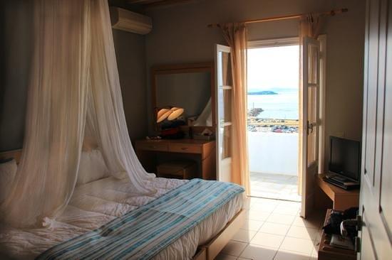 Porto Mykonos Hotel: Bedroom