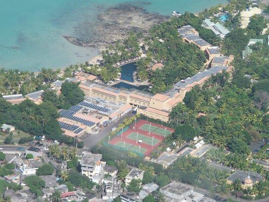 Mauricia Beachcomber Resort & Spa : Vue du ciel avec Island Wings Mauritius