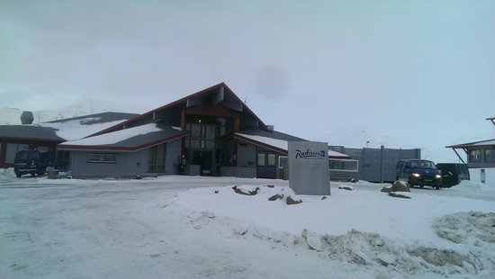 Radisson Blu Polar Hotel, Spitsbergen, Longyearbyen : Outside