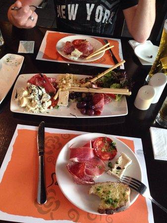 Sardinella: Meat platter April 2014