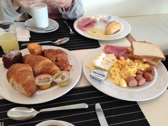 Hotel Diamante Alessandria : Colazione a buffet