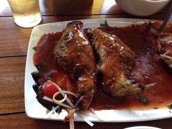 Sardinella: Rabbit yummy April 2014