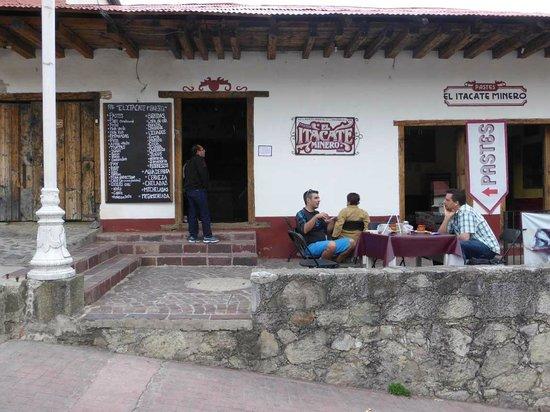 El Itacate del Minero : Außenanlage