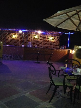 The Terrace Grill - Roof top barbeque restaurant, La Place Sarovar Portico