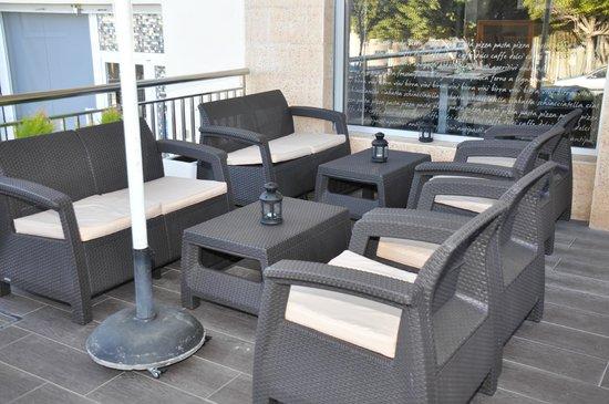 Pinello Restaurante: Terraza