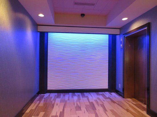 Holiday Inn Corpus Christi Downtown Marina: Elevator Area