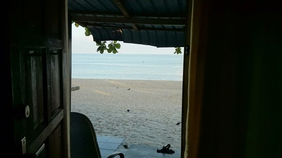 Ismail Beach Guest House: Room B1 with the ocean view.