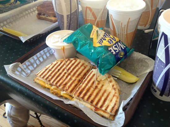 """Queen City Creamery & Deli: """"Featured"""" Sandwich (special of the day)"""