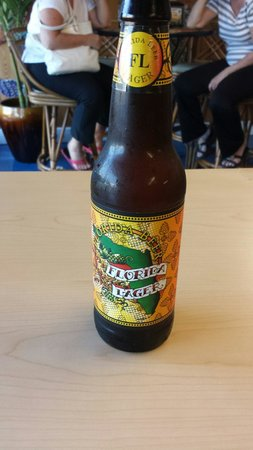 Jazzy's Mainely Lobster & Seafood Company: Loved the Florida beer!
