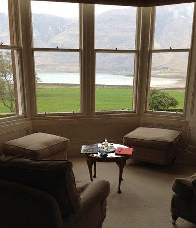 The Torridon: Nuestra vista desde el Room Loch Torridan