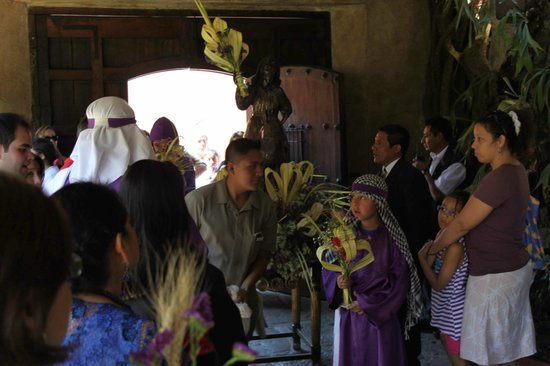 Hotel Museo Spa Casa Santo Domingo : Palm Sunday at Casa Santo Domingo