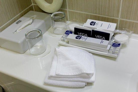 Best Western Plus Vega Hotel & Convention Center : Ванная комната