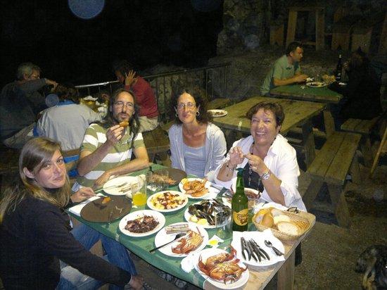 Los piratas del sablon : Cena con amigotes