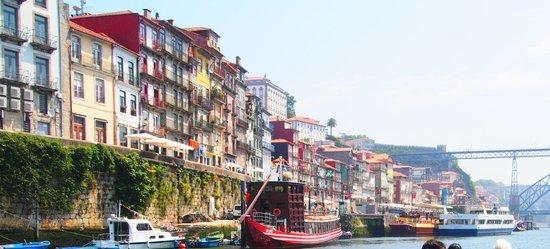 Zona Ribeirinha : Ribeira vista do Rio Douro
