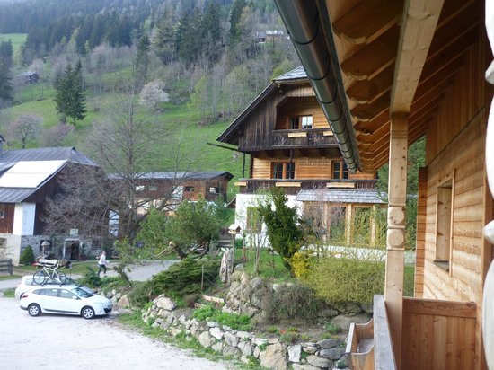 Biohof Seidl: Blick auf's Haupthaus