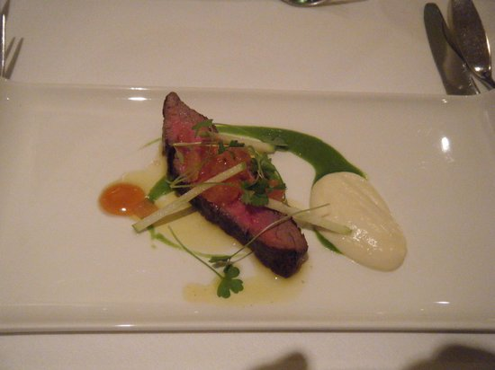 Morston Hall: The Aberdeen Angus course