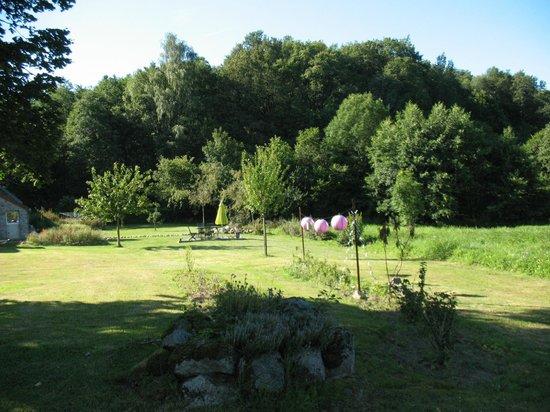 Domaine de la Jarrige : Jardin