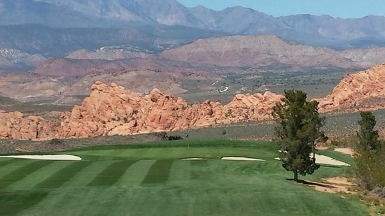 Sky Mountain Golf Course: Rock on