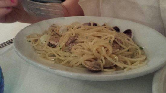 Ristorante Menarosti: Spaghetti con lupini